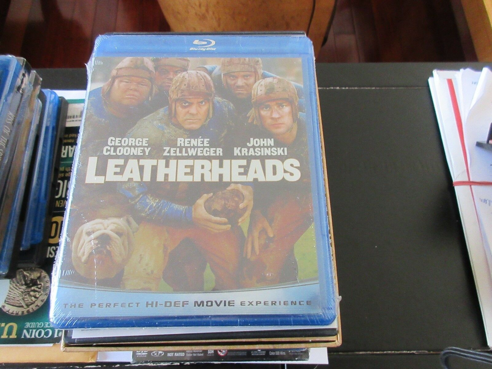 Leatherheads , Blue-Ray Disc , DVD