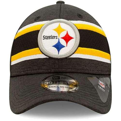 Pittsburgh Steelers New Era 39THIRTY 2019 Sideline Baseballmütze Flex Für S//M
