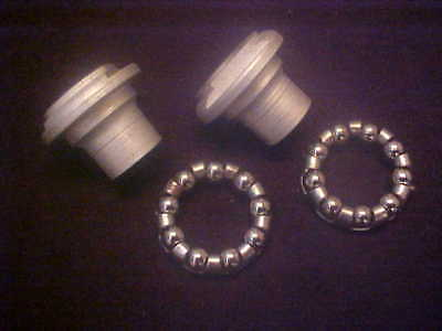 Eclipse Bendix Heavy Duty Front Hub Cones /& Bearings Harley nos Cycle Truck