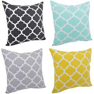 kissenh lle kissenbezug dekokissen 100 baumwolle 40x40 40x60 40x80 50x50 ebay. Black Bedroom Furniture Sets. Home Design Ideas