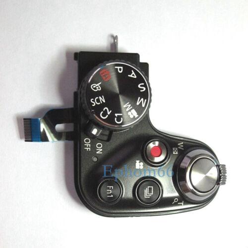 New Top Cover Shutter Button Mode Dial Unit For Panasonic Lumix DMC-FZ200 LUX4