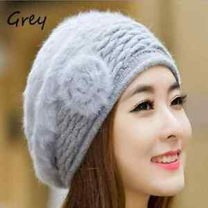 Korean Cute Fashion Hats Winter Cap Women Winter Hat Beret ... eb672eeae50