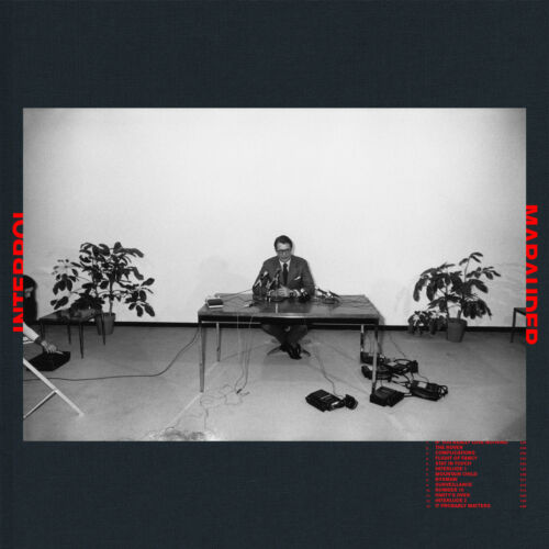 Interpol Marauder Cover Poster 2018 Album Indie Rock Art Print 20×20 24×24 32×32