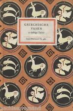 Insel-Bücherei Nr. 980 GRIECHISCHE VASEN alt Griechenland Malerei Keramik Antike