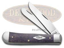 CASE XX Painted Desert Purple Bone Trapper 1/500 Stainless Pocket Knife