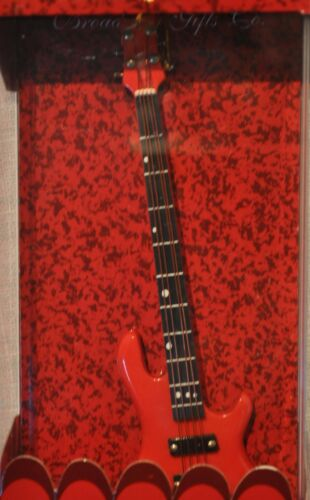 Details about  /Red Bass Guitar  Ornament New in Box Music Christmas Decoration