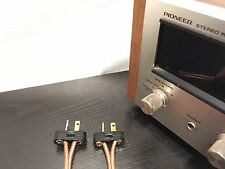 2 Pioneer Replacement Speaker Plug Connectors for SX 626 727 828 770 6000 9000