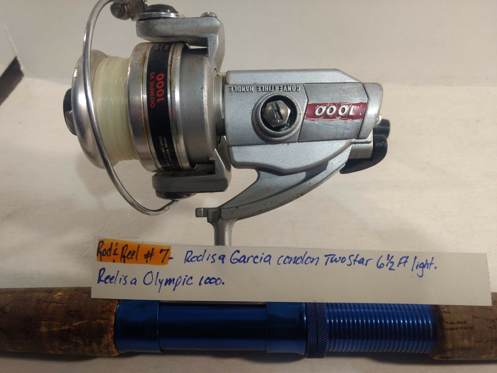Garcia Conolon 6 1  2' Rod & Olympic VS 1000 Reel Combo  fs30  high quaity