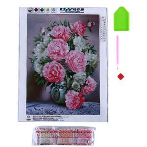 5D-Flor-Peonia-bordado-hagalo-usted-mismo-Diamante-Pintura-Kit-Punto-De-Cruz-Decoracion-del-hogar-D