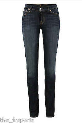 *SEVEN FOR ALL MANKIND* ROXANNE CLASSIC SKINNY JEANS W27 L32