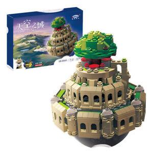 Microblock-Castle-In-The-Sky-Bausteine-Kinder-Spielzeug-Gebaeude-1179PCS-OVP