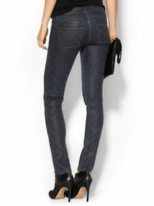 Citizens-of-Humanity-COH-Racer-Coated-Low-Rise-Skinny-Jean-Blue-Print-Size-24