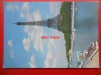 POSTCARD FRANCE PARIS EIFFEL TOWER