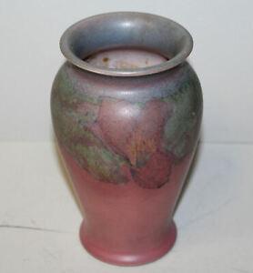 Antique-Rookwood-Pottery-Vase-Sallie-E-Coyne-Artist-Signed-Dated-1928