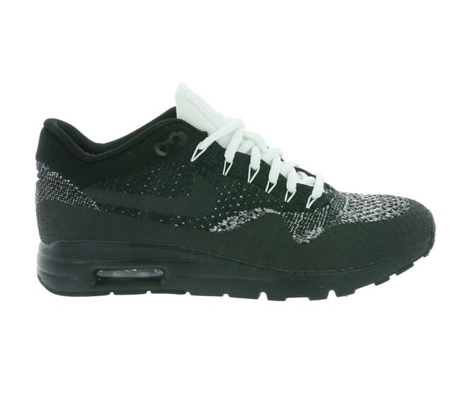 best service 2ce1c 75fcd Womens Nike Air Max 1 Ultra Flyknit Black Trainers 859517 001
