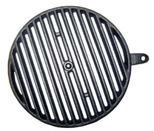 Rouille rundrost warmluftofen Kachelofen Ortrand 3020.1 et 4020.1 28,5 cm Ahe