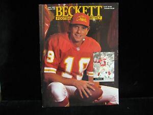 1993-Joe-Montana-Beckett-Football-Magazine