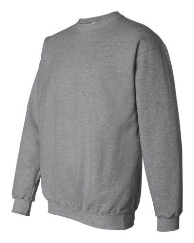 HANES NEW Mens Size S-3XL PrintProXP Ultimate Cotton Crewneck Sweatshirt F-260