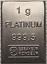 1-Gramm-Barren-Platin-Gold-Silber-Palladium-Geschenk-Wertanlage-Hochzeit Indexbild 10