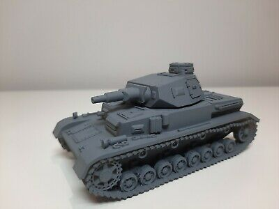 Bolt Action Chain of Command 28mm German Panzer IV Ausf G Tank Resin