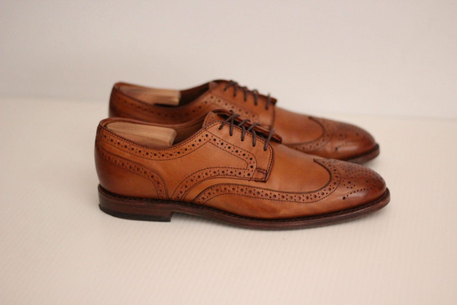 Allen Edmonds 'Madison Park' Wingtip Oxford Dress scarpe- Walnut Marronee- 8.5 D (T9)