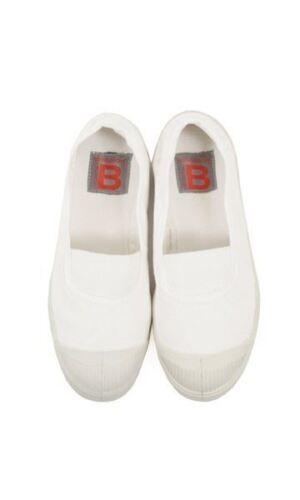 White zapatos Bensimon tenis Elástico uk 3 entrenador Uw1xPSqZd