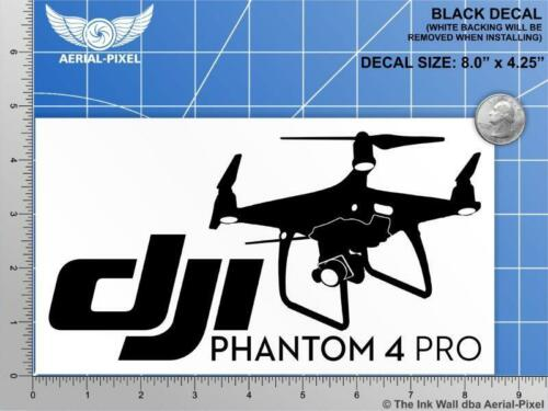 Window Case Decal Sticker Quadcopter UAV Drone New DJI Phantom 4 PRO or Pro