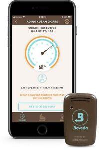 Boveda-Smart-Sensor-Zigarren-Humidor-Butler-Bluetooth-Hygrometer-Thermometer