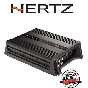 Hertz-DPOWER-1-Mono-Amplificateur-600-W-hochpegel-entree-voiture-Turn-on-NOUVEAU