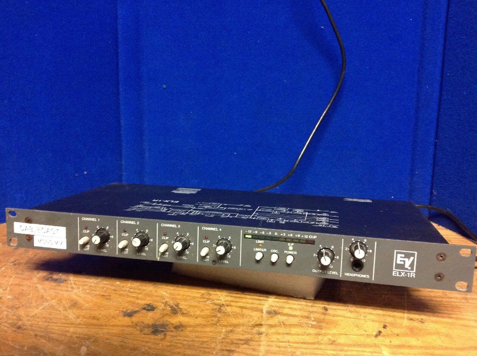 EV Channel Mic Line Mixer ELX-R
