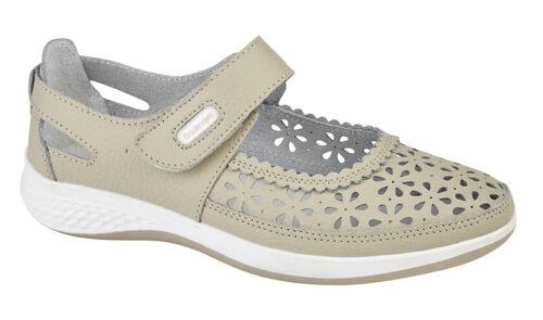 LADIES WIDE FIT EEE Summer Bar Shoes Sandals  Navy Beige Grey Size 3 4 5 6 7 8 9