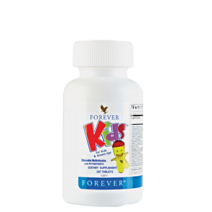 Forever Kids Chewable Multivitamin Phytonutrients Halal ...