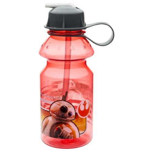 Tritan Water Bottle with Flip-up Spout and Straw BB-8 Star Wars The Force Awaken