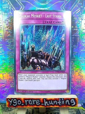 Secret Rare 1st Ed NM SPWA-EN028 Last Stand Yugioh Magical Musket