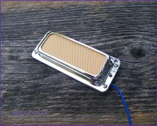 Harmony Gold Foil Pickup Teisco style EZPZ GUITAR PARTS Vintage Silvertone