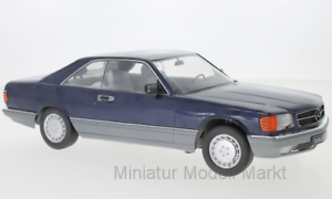 180332-KK-Scale-Mercedes-560-SEC-C126-metallic-blau-1-18
