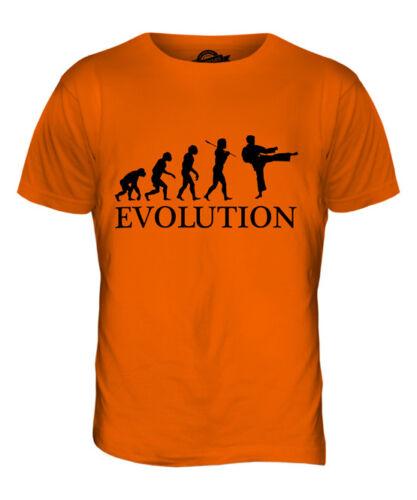 KARATE EVOLUTION OF MAN MENS T-SHIRT TEE TOP GIFT BELT UNIFORM