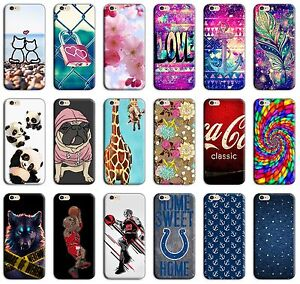 CUSTODIA-COVER-MORBIDA-IN-TPU-SILICONE-PER-APPLE-IPHONE-VARI-MODELLI-FANTASIA-M2