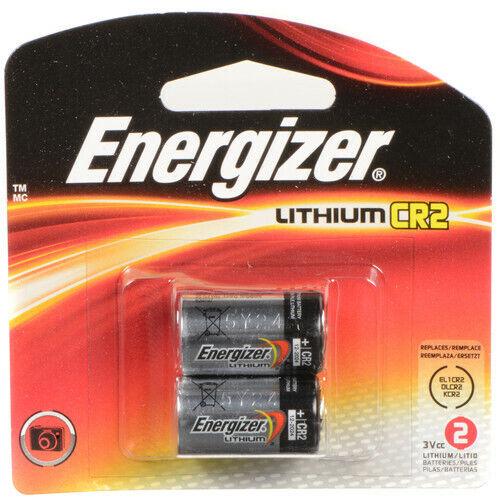 Energizer 3V Lithium CR2 Battery - 2 Pack expired 2027