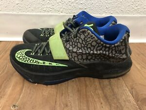 new products c7c8a a83fb NikE Kd 7 Electric Eel Sz 10 Basketball Shoes!! Durant Black/blue ...