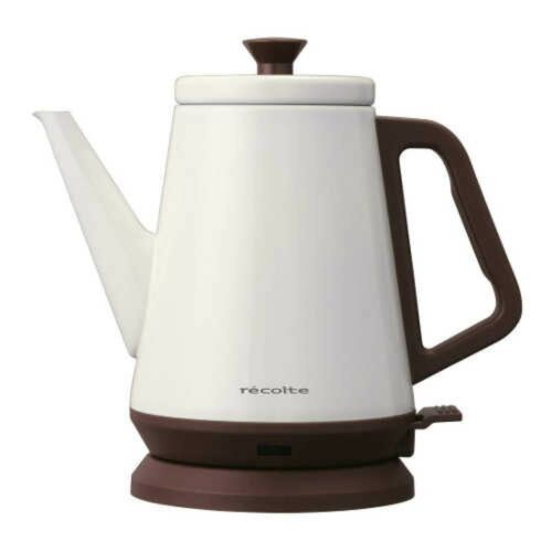 recolte RCK-2W Electric Kettle Classic Libre 0.8L White From Japan with Tracking