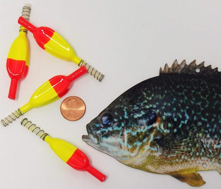 18 Pcs x Small Wing It Slip Red Chartreuse Spring Fishing Bobber BULK BAG NEW