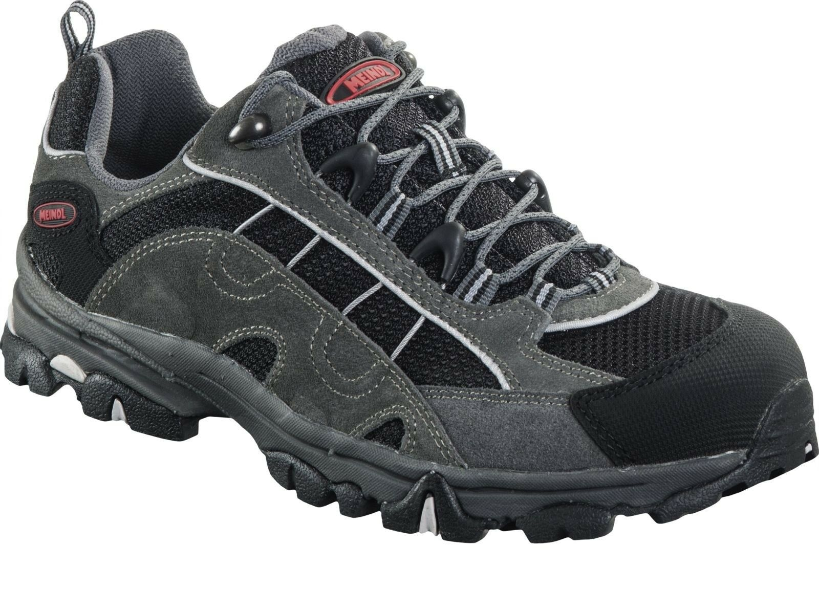 Meindl Herren Walking Hiking Schuh Magic Men 2.0 anthrazite rot