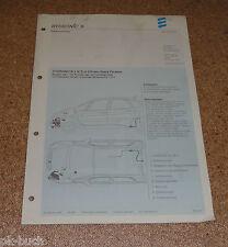 Einbauanleitung Eberspächer Standheizung B 5 W S für Citroen Xsara Picasso 04/01