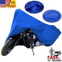 Xxl Large Motorcycle Bike Scooter Waterproof Uv Dust Protector Rain Cover Top