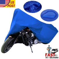 Xxl Large Motorcycle Bike Scooter Waterproof Uv Dust Protector Rain Cover Top