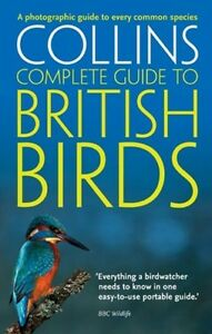 Collins-Complete-Guide-To-British-Birds-paperback-book-New