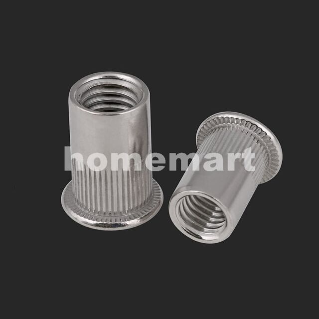Carbon Steel & 304 Stainless Rivet Insert Clinch nut nuts M3 M4 M5 M6 M8 M10 M12
