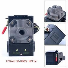 4 Port Air Compressor Pressure Switch Control Valve 95 125 Psi With Unloader Usa