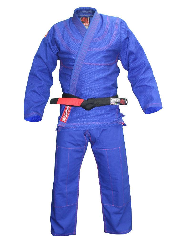 Break Point Mens Classic BJJ Jiu Jitsu Gi  - blueee  trendy